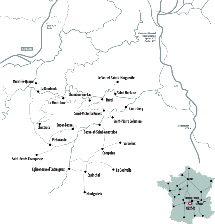 Carte Horizons sancy