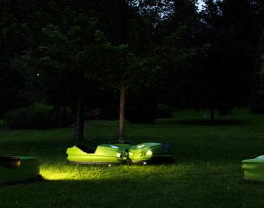 Matrices - Oeuvre de Bruno Grasser située au Parc Fenestre - Horizons 2018