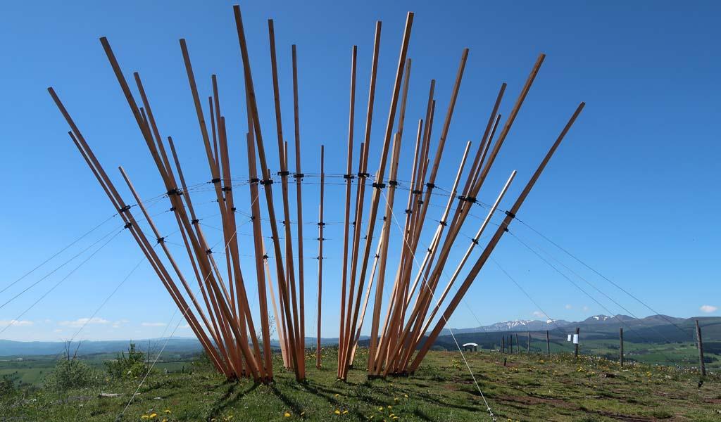 Le Rire des Fées, installation de Victor Yvin, Horizons 2019