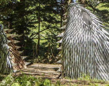 Leviathan, installation de Camille Bellot et François Pottier, Horizons 2019